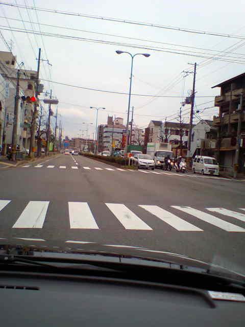 12月22日京都市西京区にて・・・