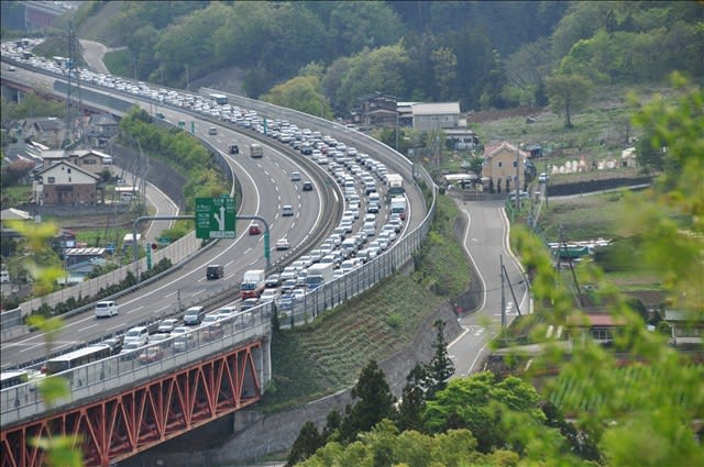 中央 道 渋滞