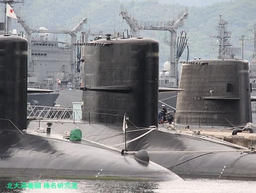 そうりゅう型・おやしお型・はるしお型潜水艦勢ぞろい - 北大路機関