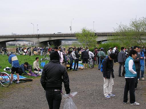 関戸橋 フリマ