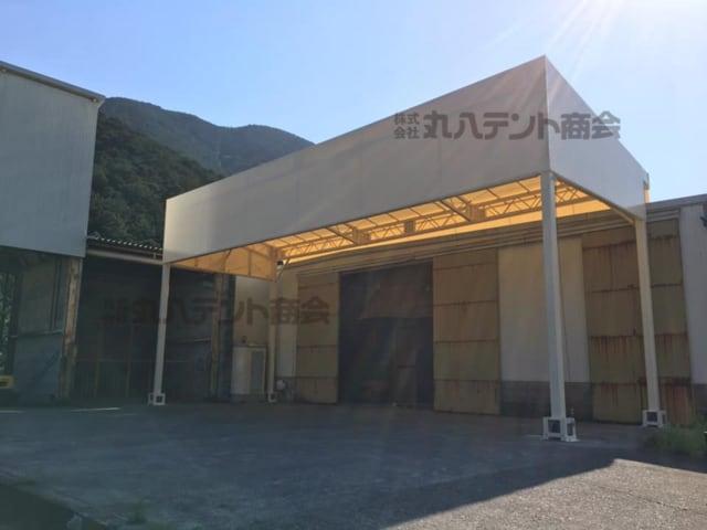 荷捌き場テント【産業用施設などに】