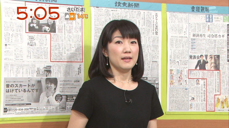 上宮菜々子 やじうまテレビ! 12...