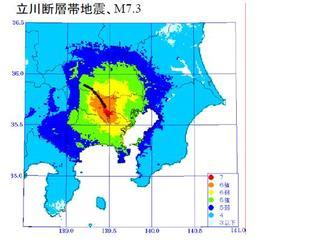 地震リスク delphis manta blue