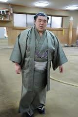 巨武蔵さんの断髪式】 - 大相撲 ...