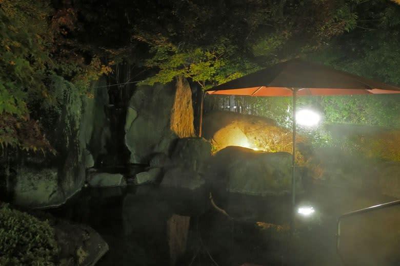 山紫苑/庭園露天風呂