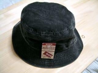 安くてびっくり、無印良品の帽子