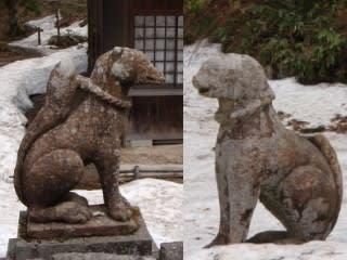 下山神社のお稲荷様