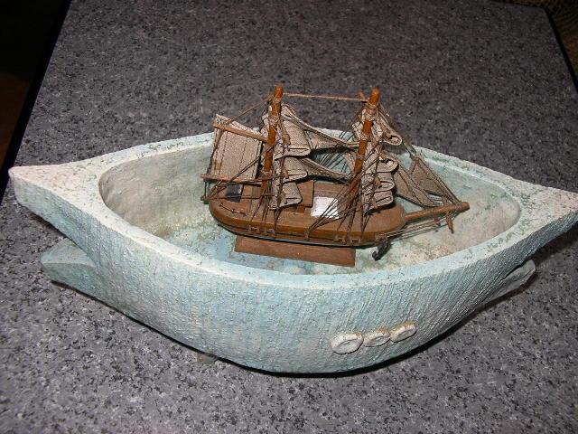 癒しの部屋の仲間たち15・大海に帆船の画像