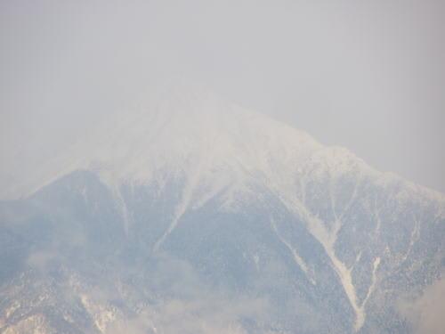 常念岳 2012/1/30