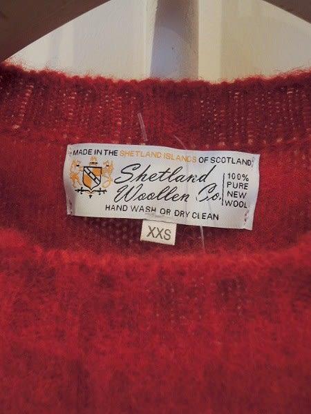 赤いセーター - たしたりひいたり