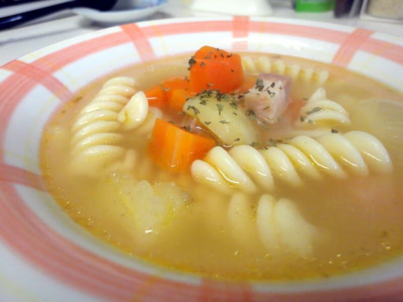01月06日 コンソメスープ
