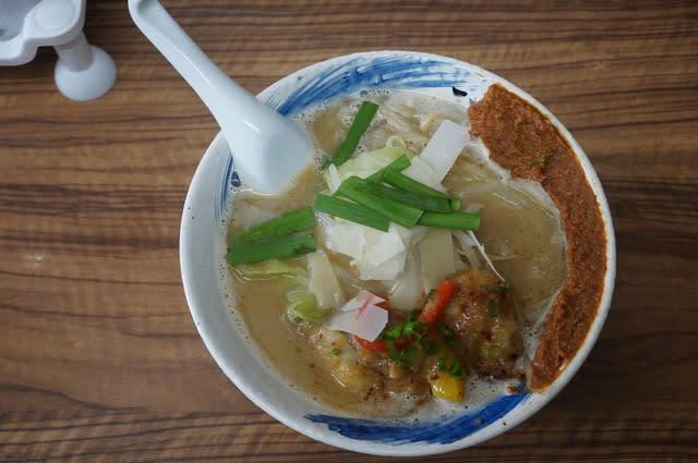 20045 麺や福座「かきの土手みそ」@金沢 2月19日 地元能登の牡蛎を使った冬の麺料理第三弾!「かき潮」「釜あげ」「土手みそ」のそろい踏み!