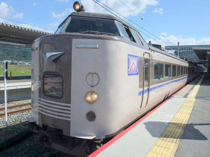 183系(JR西日本カラー)特急「はしだて」