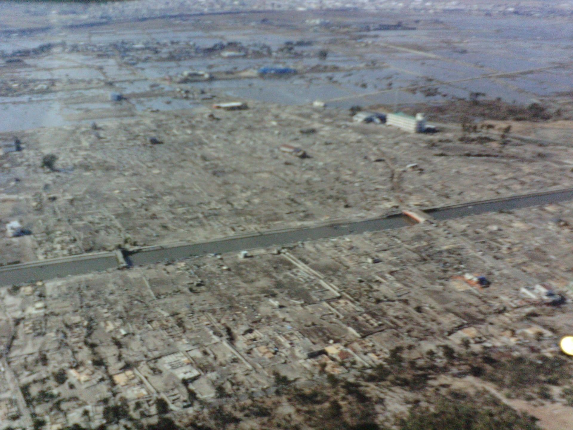 東日本大震災(⑧;仙台市付近沿岸の津波被害(1)) - とりあえずやってみっかなぁ