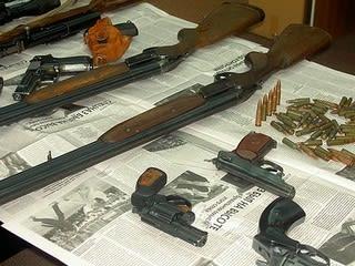 サハリン州警察の活動 武器の押収 - N45-50