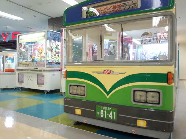 秋田のバスなのに川崎ナンバー