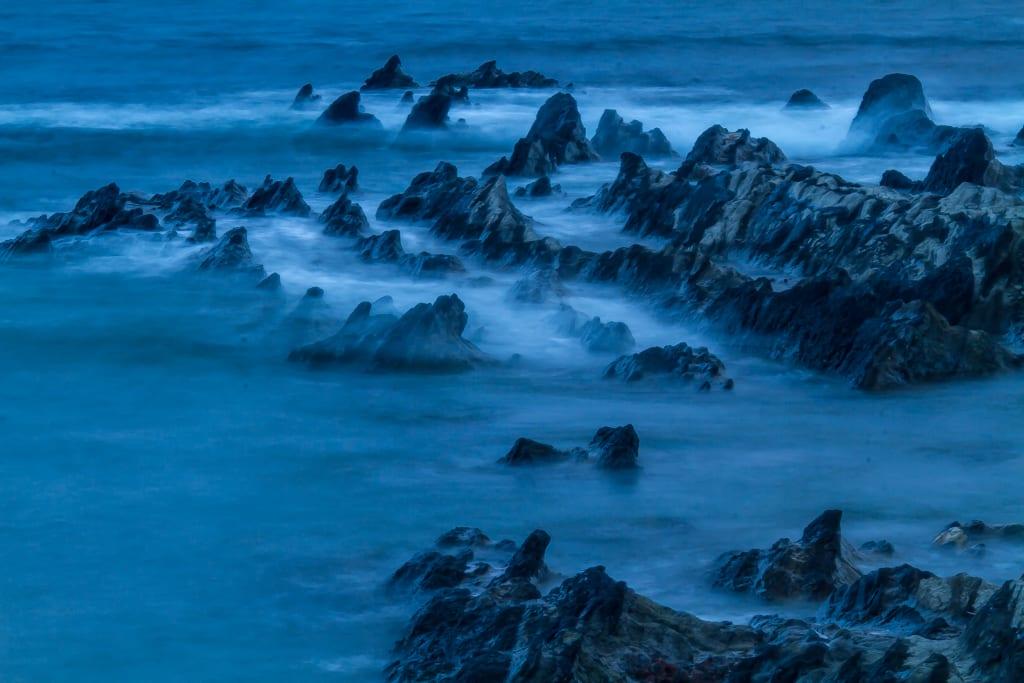 荒崎海岸の写真
