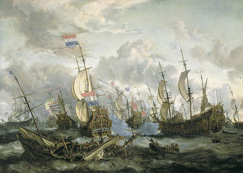 1651年 〈英蘭戦争〉☆ - ベック...