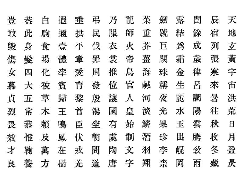 白澤中明朝体:習作の記録 - typeKIDS Report