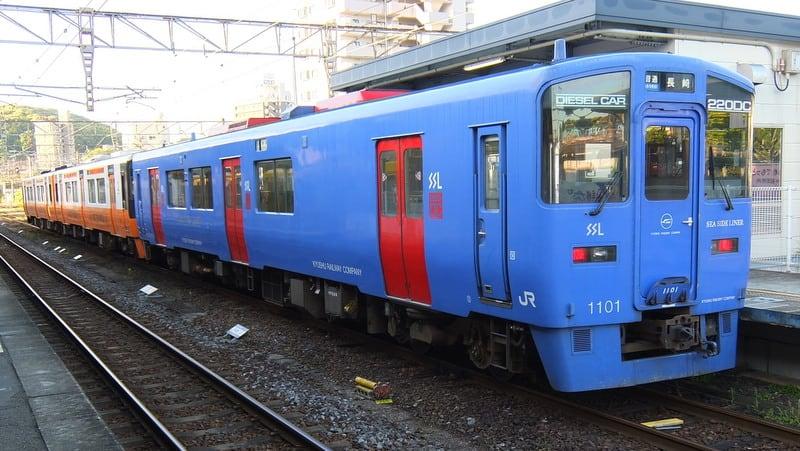 長崎本線旧線(長与支線)普通列車
