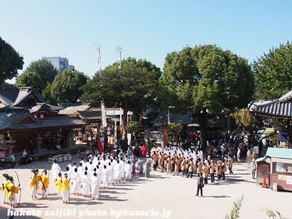 櫛田神社秋季大祭「博多おくんち...