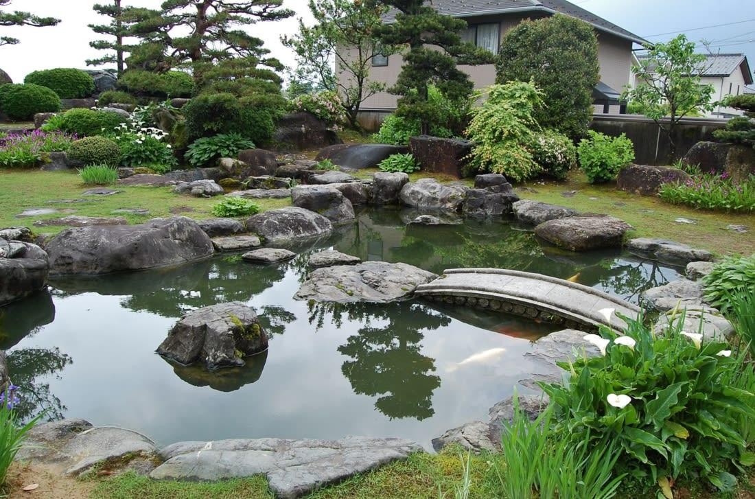 「豪邸 庭」の画像検索結果