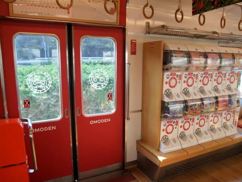 和歌山電鐵「おもちゃ電車」車内