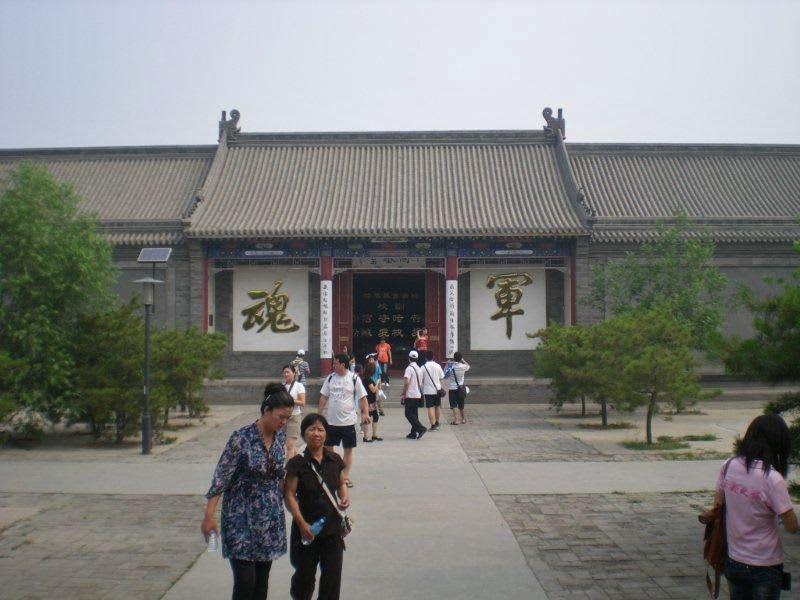 門を入って・・・JingShangの河...