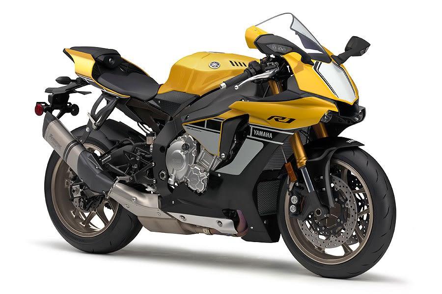 Yamaha Yzf R1 スピードブロック インターカラーが眩しい Rider S