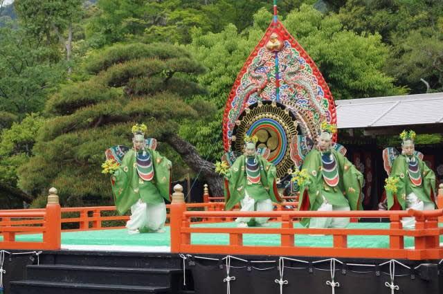 伊勢神宮「春季神楽祭 舞楽」見てきました〜(^^)  2018