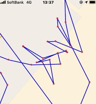 トラッカー 足跡 「足跡(自分の移動軌跡がわかる)」をApp Storeで