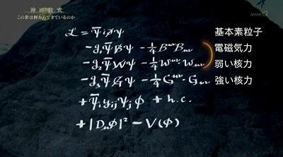 神の数式」はディラック方程式か...