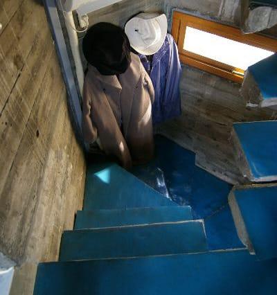 時にはクローゼットになる階段