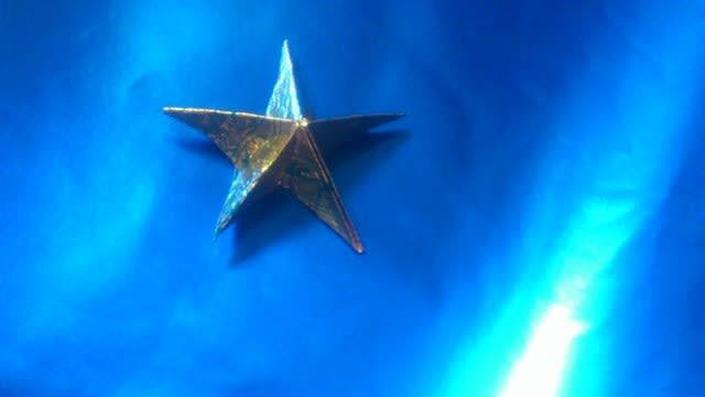 七夕飾り折り紙 星
