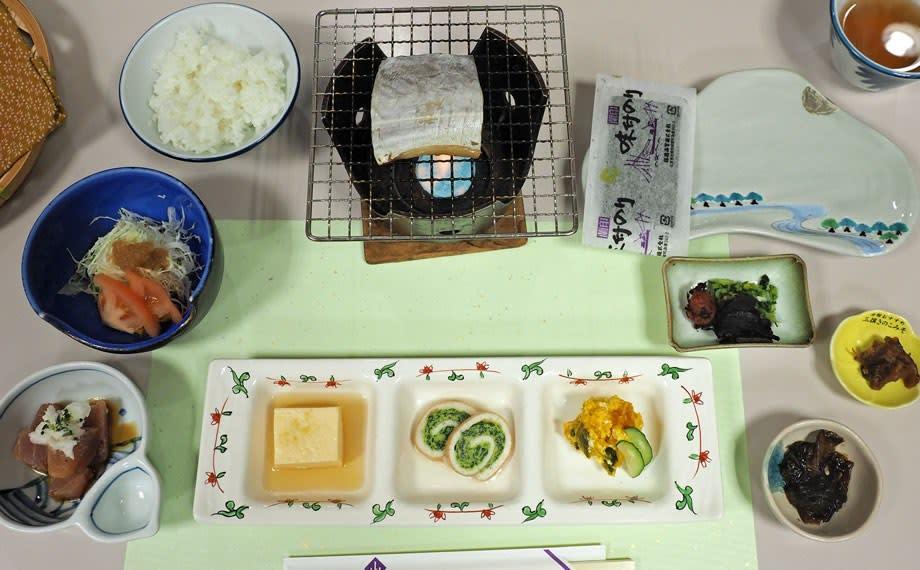 山紫苑/朝食