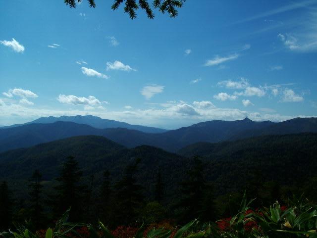 上州武尊(ホタカ)と笠が岳