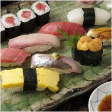 「にぎり寿司の食べ方は一口or二口? ←こ」の質問画像