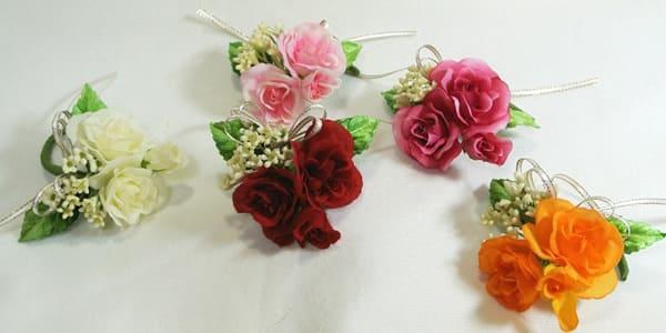 造花 アートフラワー 卒園式 園児用コサージュ