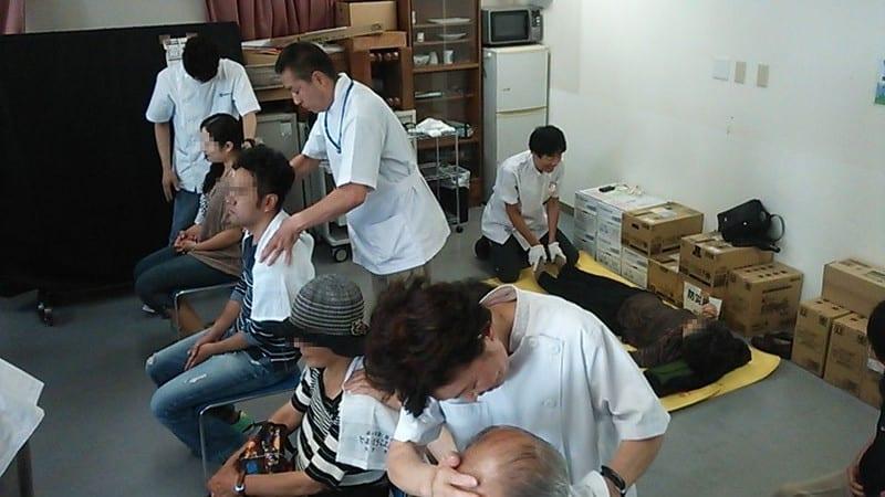 東京在宅サービスのボランティア活動@中野共立健康まつり