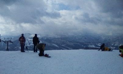スノーボード1日め