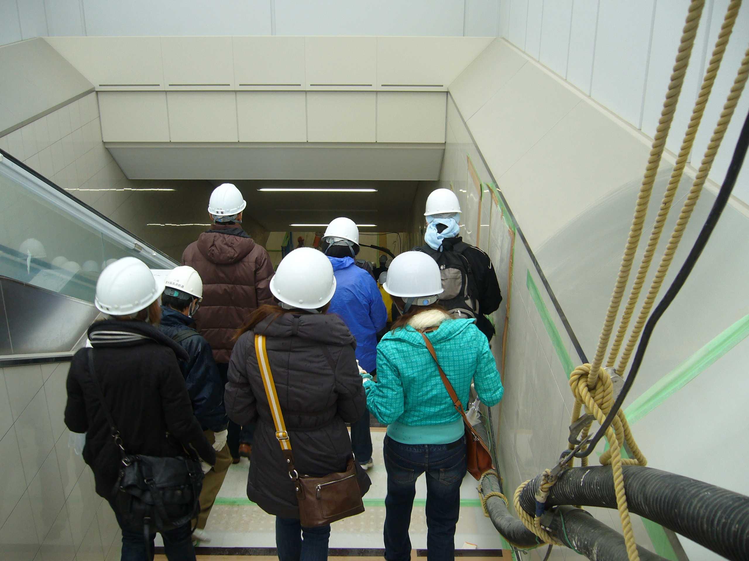 「阪神なんば線」新線ウォークいよいよスタート