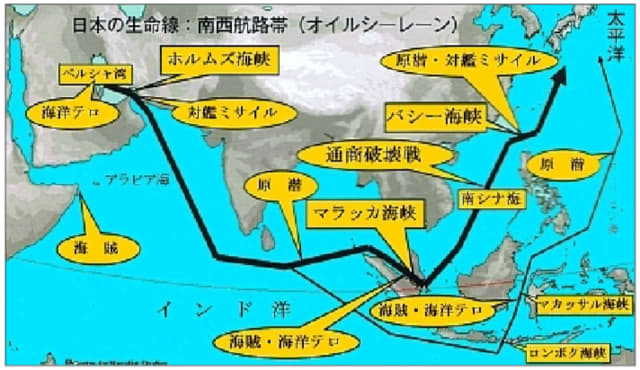 6/15:タンカー攻撃に思う「ホルムズ海峡→マラッカ海峡→バシー海峡 ...