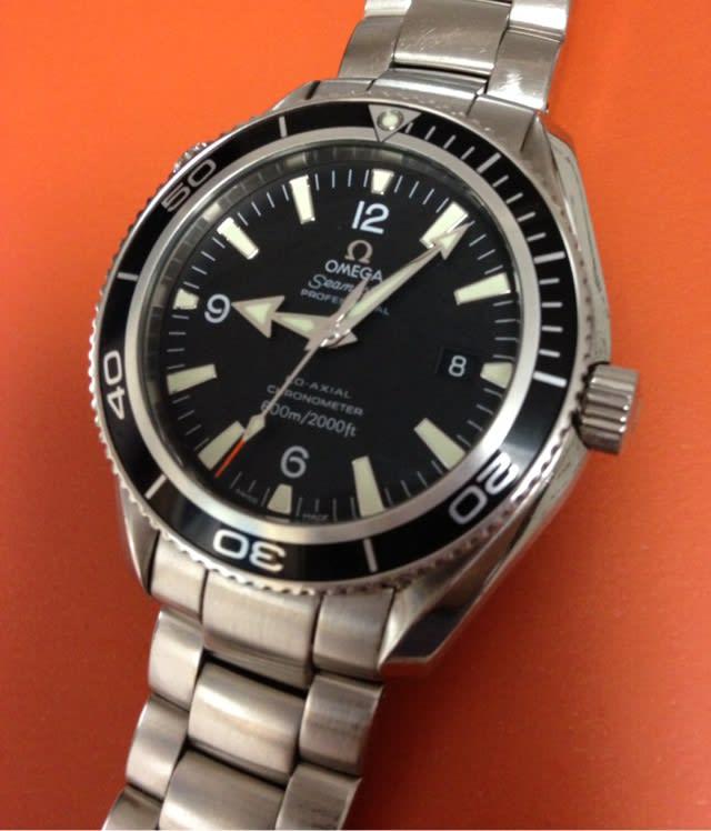 buy online ff486 16b57 使う腕時計 オメガ シーマスター プラネットオーシャン 007 ...