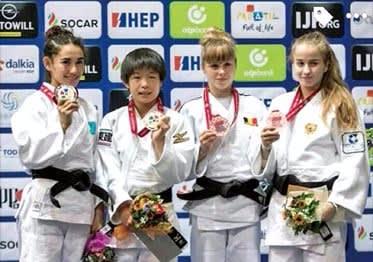 世界ジュニア柔道選手権大会女子...