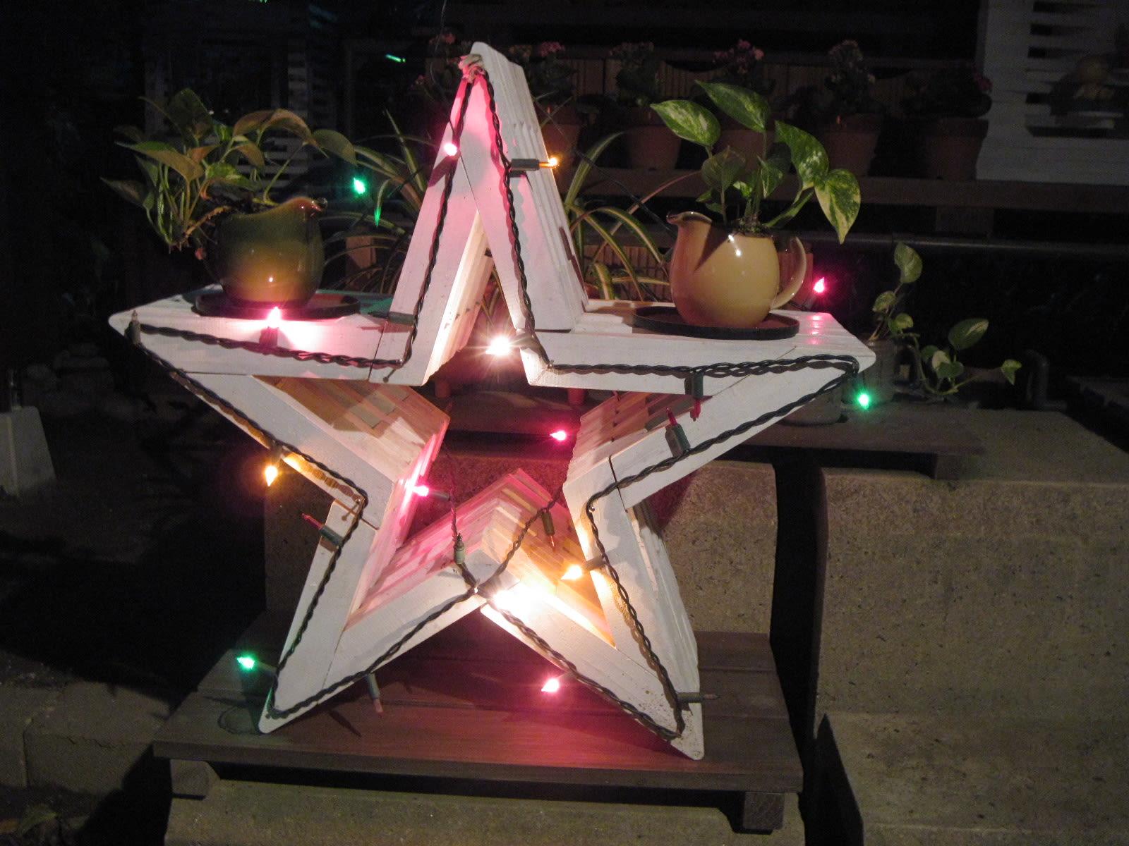 我が家のクリスマス・イルミの画像