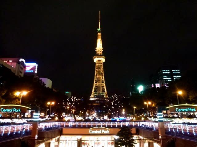 ライト 名古屋 アップ テレビ塔