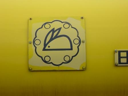 ウサギのマーク(日本曹達の社紋板) - 『タキ10450』のタンク車を ...