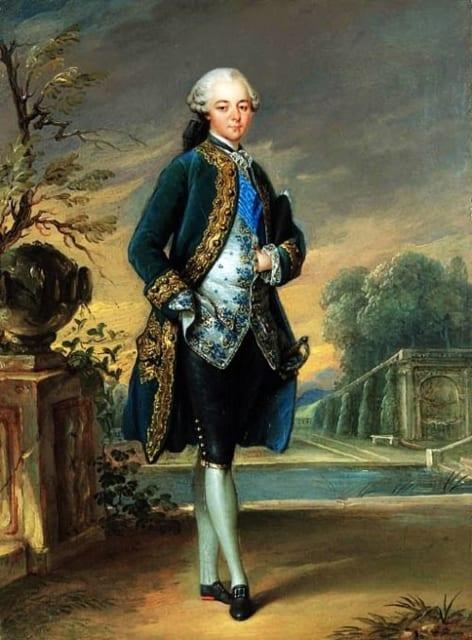 18世紀のキュロット Vばら