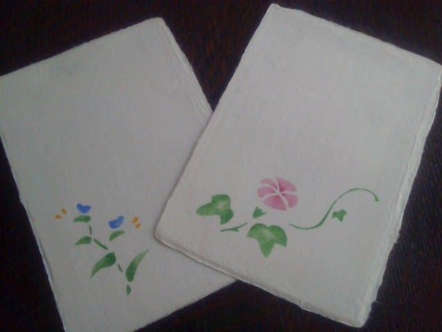 和紙の絵葉書