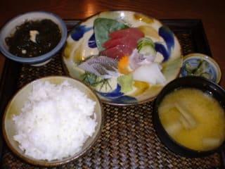 沖縄刺身定食